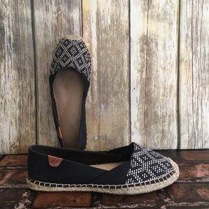 Sperry Katana Canvas Espadrille Slip On Shoes